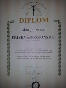 diplom Friskvårdskonsult